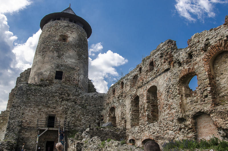 Château de Stara Lubovna, Slovaquie photographie stock libre de droits