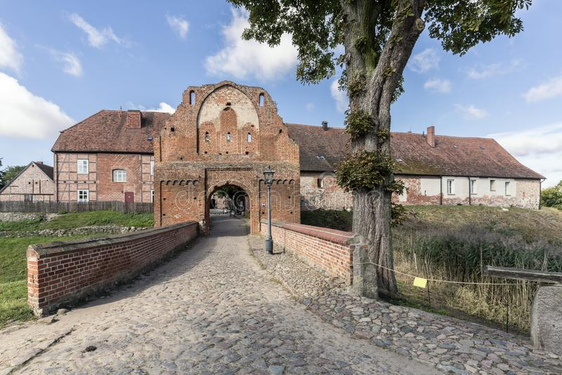 Château de Stargard, Allemagne photos stock