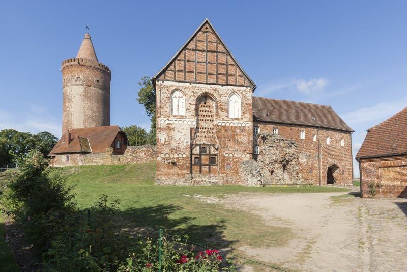 Château de Stargard, Allemagne photo stock