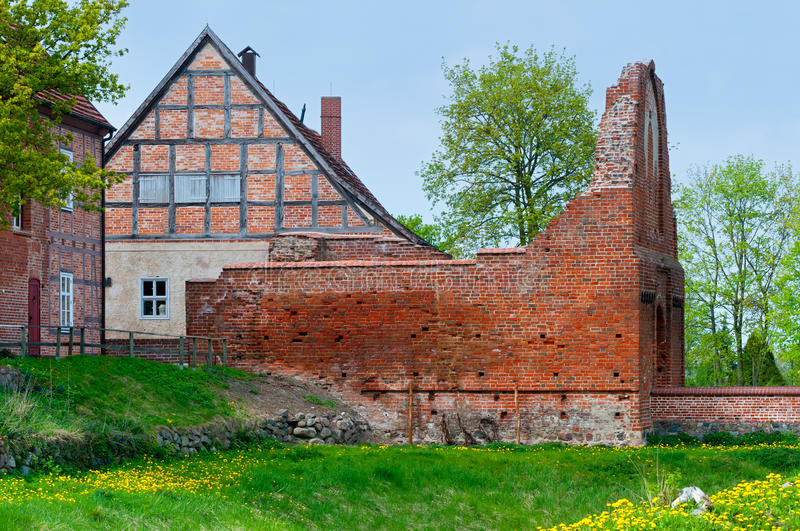 Château de Stargard, Allemagne photo libre de droits