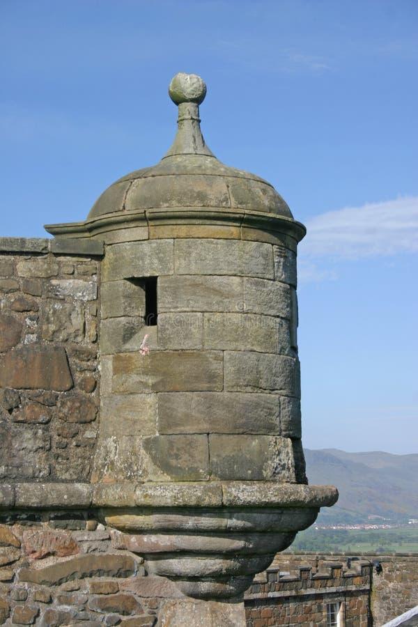 Château de Stirling en Ecosse images stock