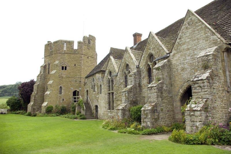Château de Stokesay photographie stock libre de droits