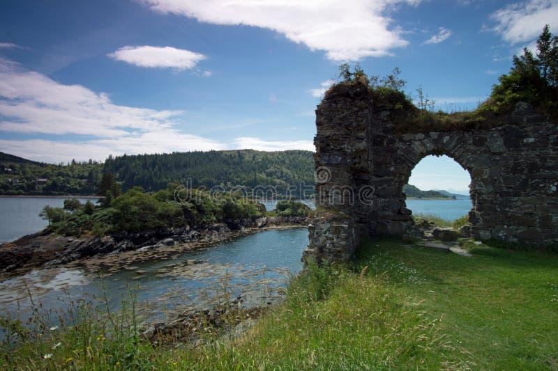 Château de Strome photographie stock libre de droits
