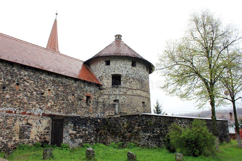 Château de Sukosd-Bethlen dans Racos (tour de Wach) image stock
