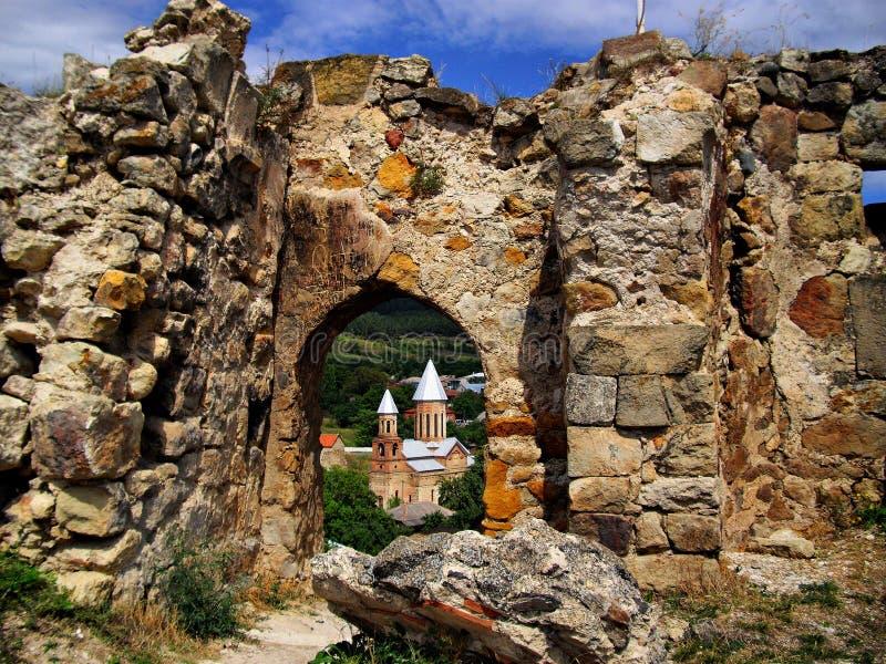 Château de Surami photo stock