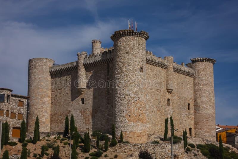 Château de Torija, Espagne photographie stock