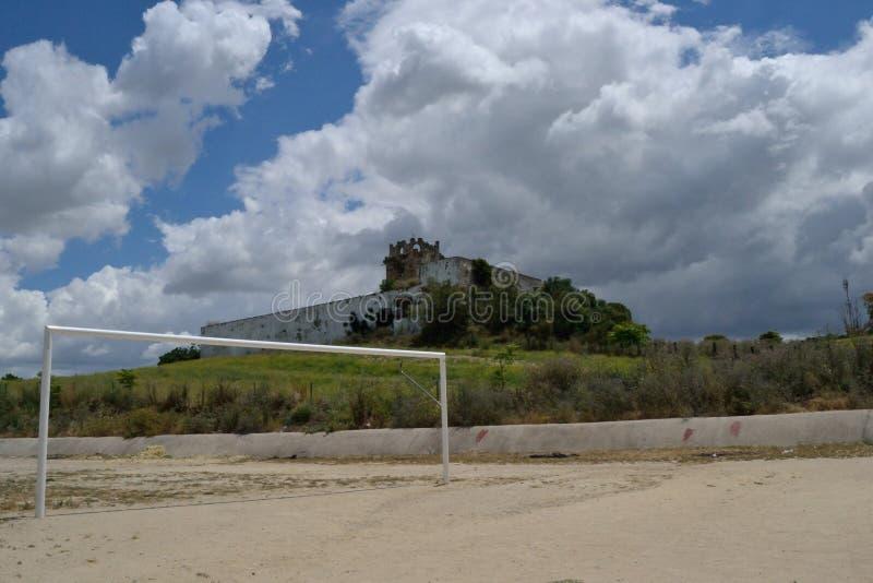 Château de Torremelgarejo images libres de droits