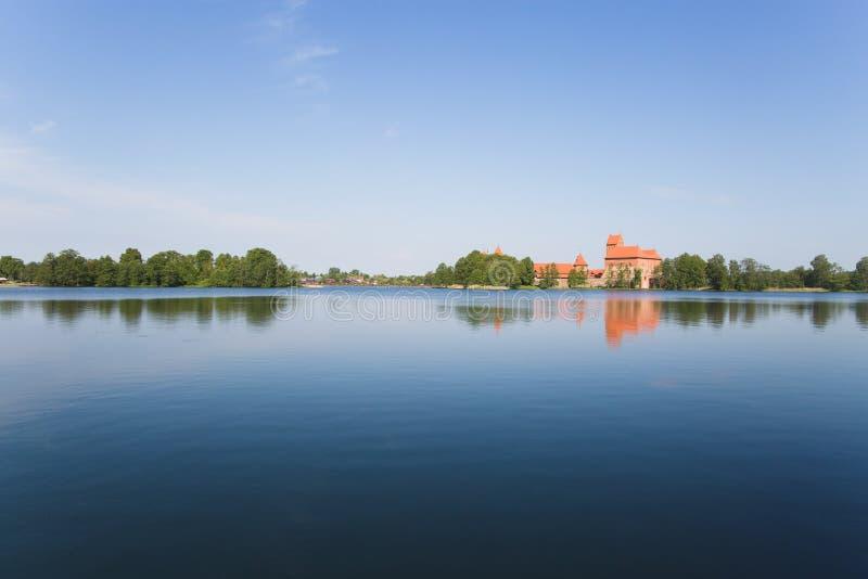 Château de Trakai photos stock