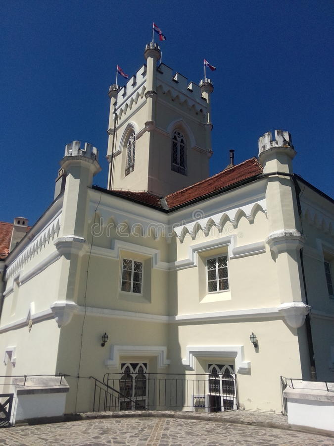 Château de Trakoscan images libres de droits