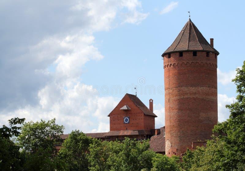 Château de Turaida images libres de droits