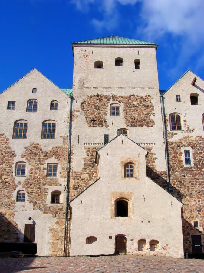 Château de Turku, Finlande photo stock