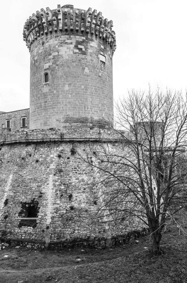 Château de Venosa photos libres de droits