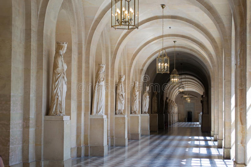 Château de Versailles images libres de droits