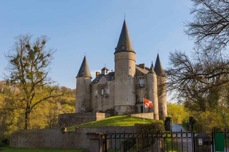 Château de Veves en Belgique photographie stock libre de droits