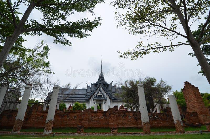 Château de vieillesse en Thaïlande photo libre de droits
