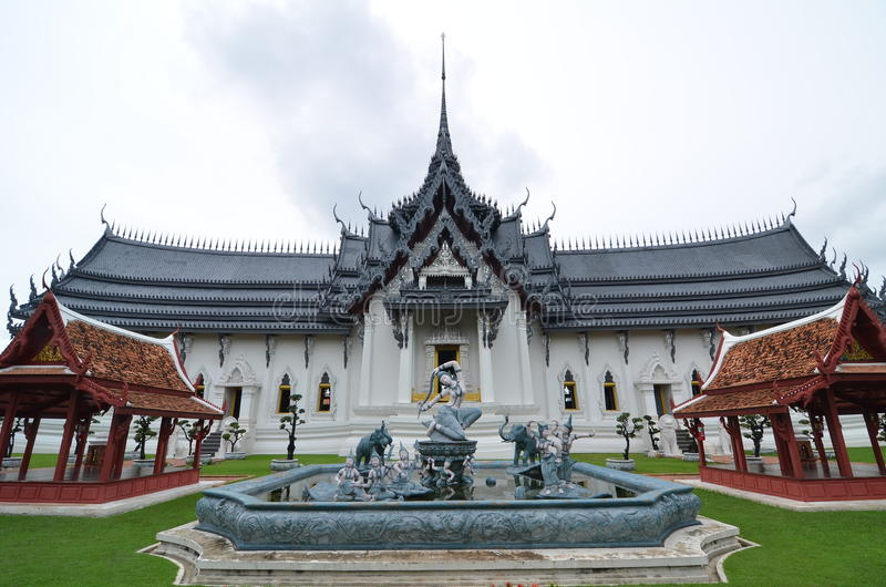 Château de vieillesse en Thaïlande photo stock