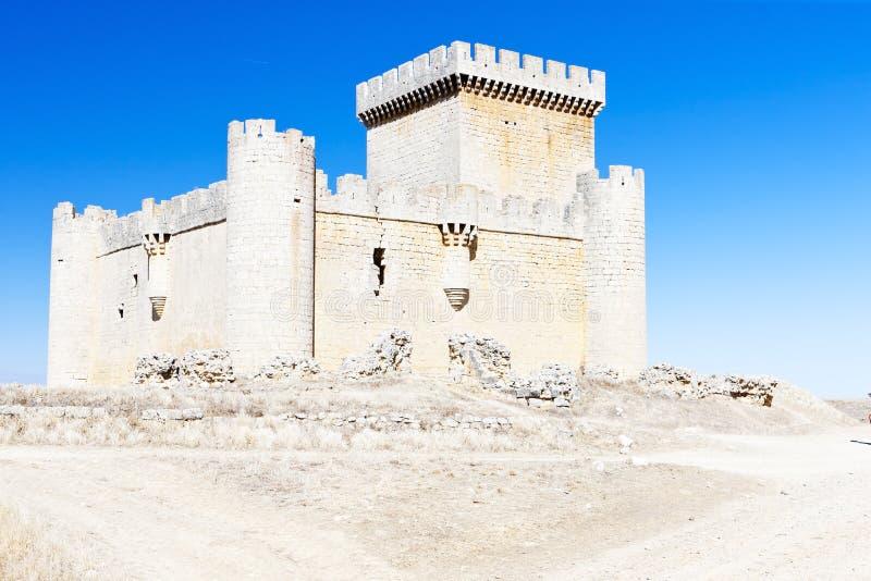 Château de Villalonso, de Castille et de Léon, Espagne photographie stock