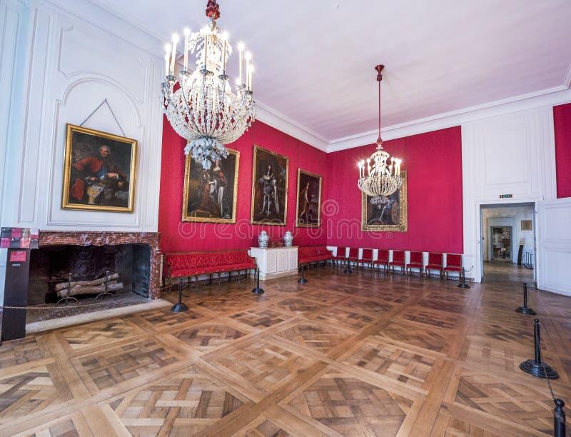 Château de visite de Chambord photo stock