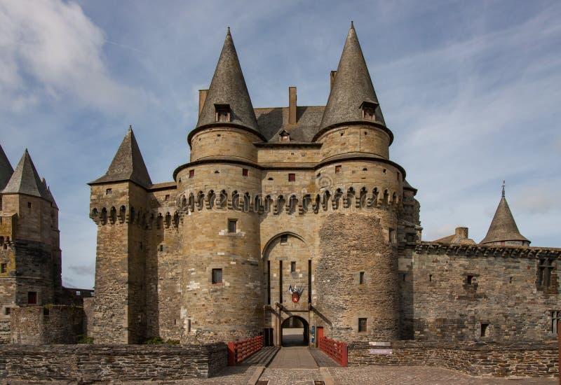 Château de Vitré, Vitré, France photos libres de droits