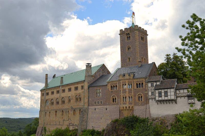 Château de Wartburg images libres de droits