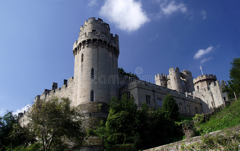 Château de Warwick photo stock