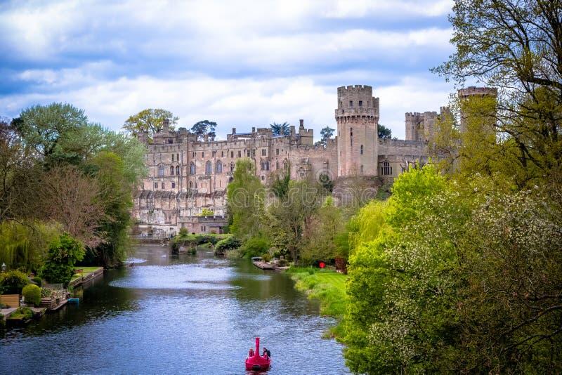 Château de Warwick image libre de droits