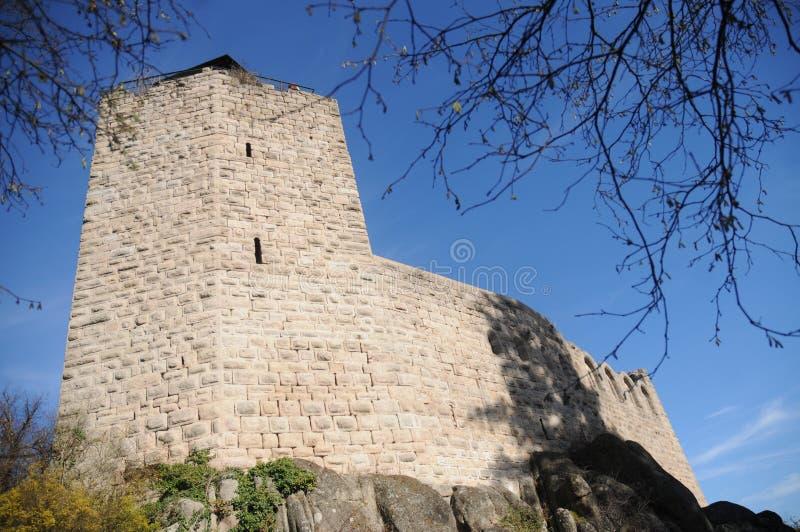 Château Du Bernstein/château de Bernstein photos stock