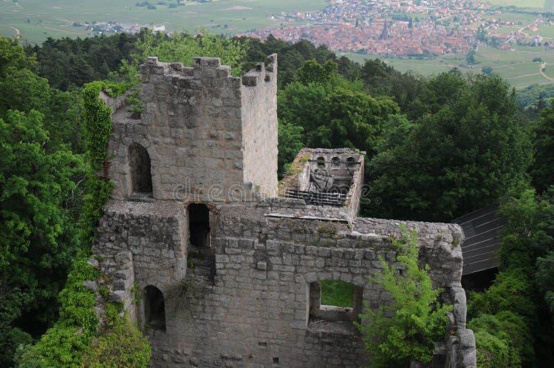 Château Du Bernstein/château de Bernstein photos libres de droits