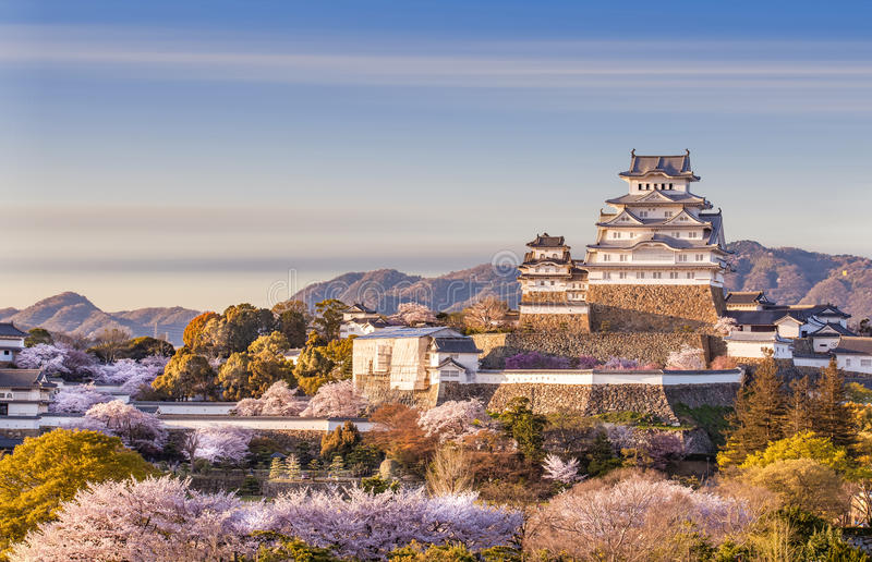 Château du Japon Himeji image stock