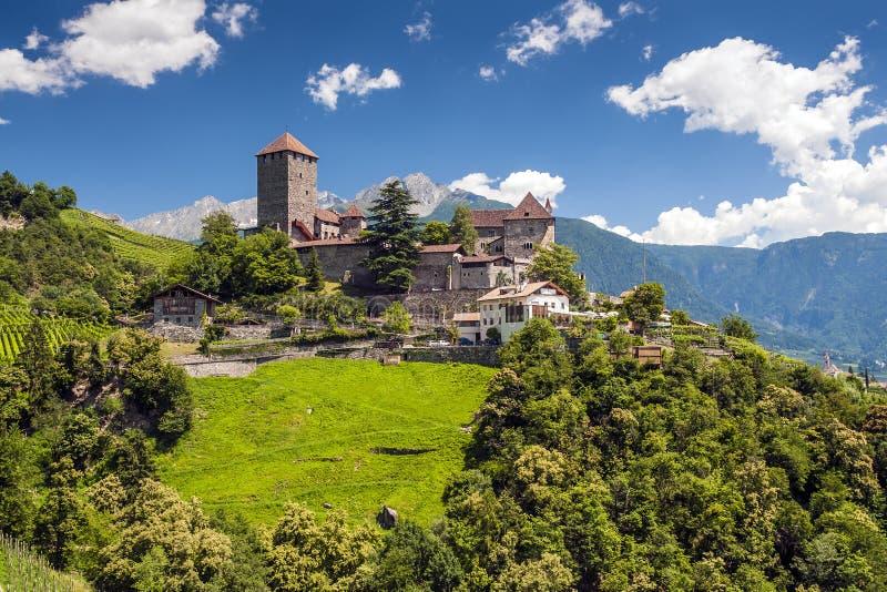 Château du Tirol photo stock