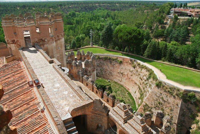 Château en coca, Espagne photo libre de droits