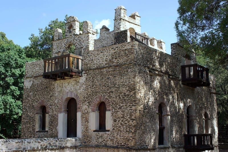 Château en Ethiopie photographie stock