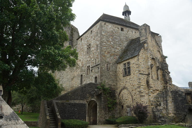 Château en France photos stock
