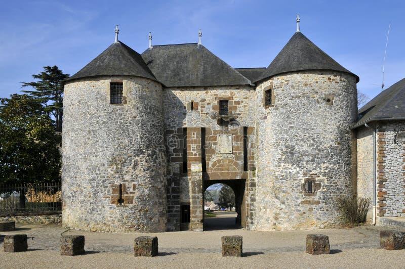 château France sarthe fresnay photos libres de droits