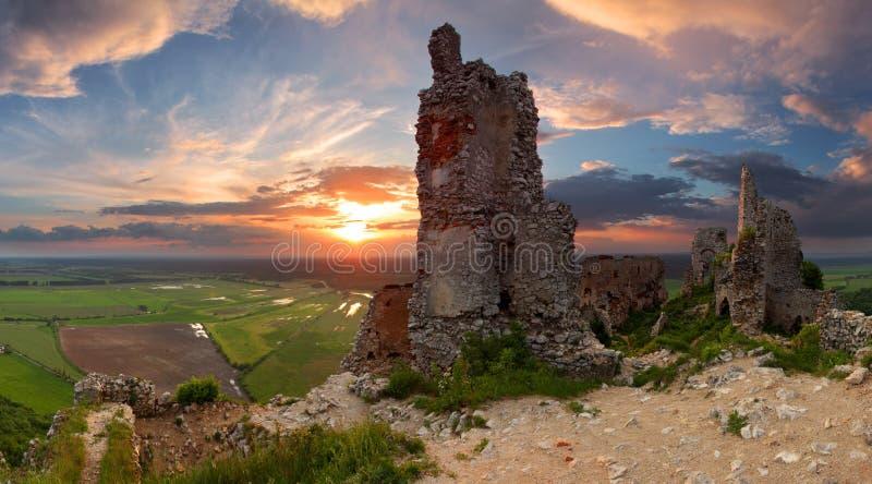 Château hanté images libres de droits