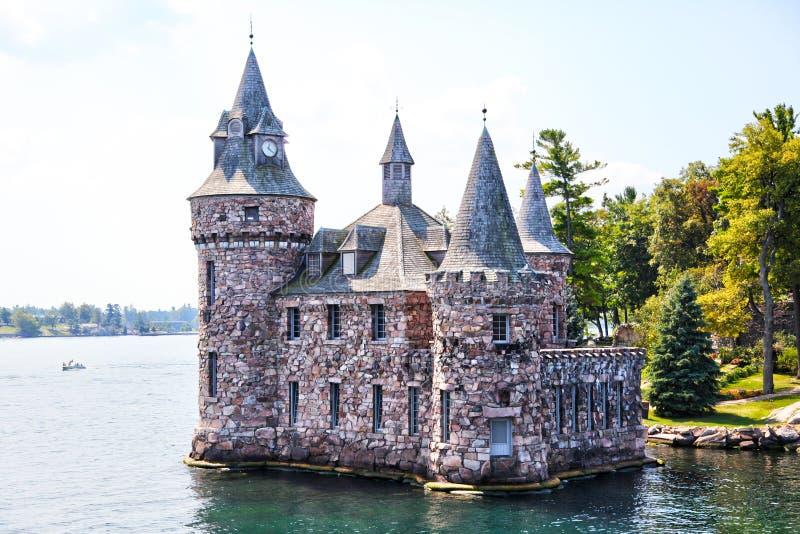 Château historique de Boldt dans 1000 îles de New York photographie stock