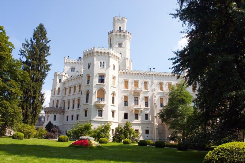 Château Hluboka NAD Vltavou photographie stock libre de droits