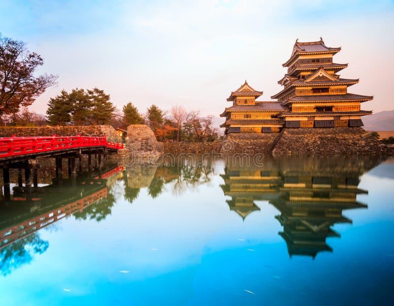 château Japon Matsumoto photos libres de droits