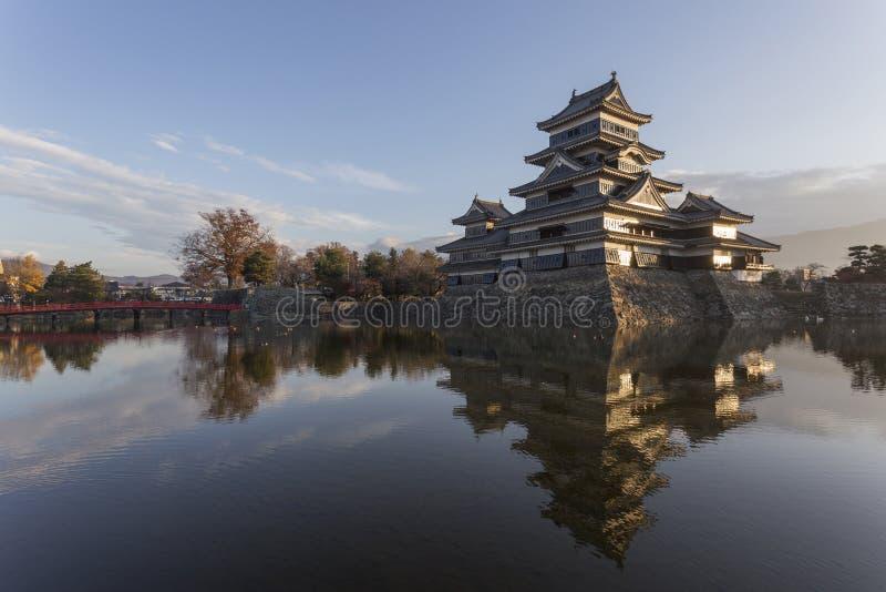 château Japon Matsumoto photographie stock