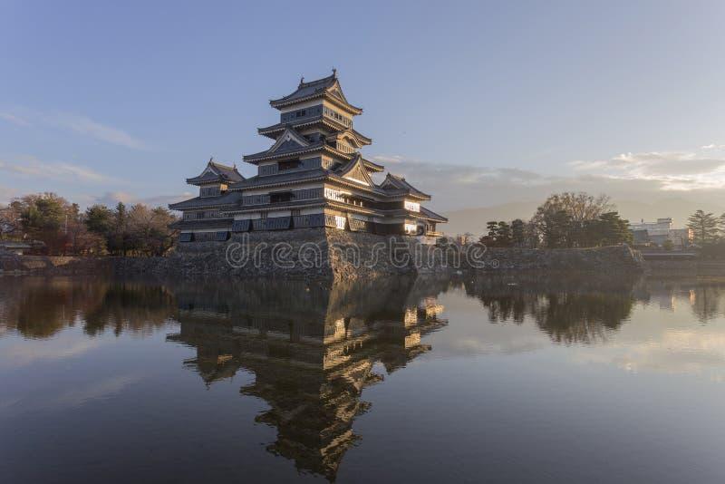 château Japon Matsumoto photos stock
