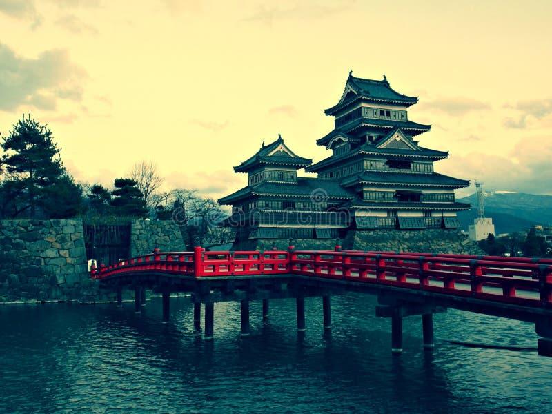 château Japon Matsumoto image libre de droits