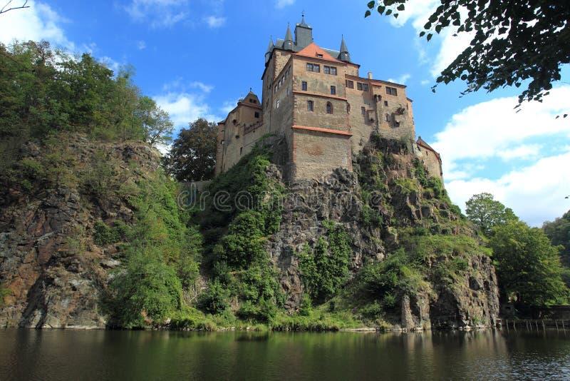 Château Kriebstein photo libre de droits