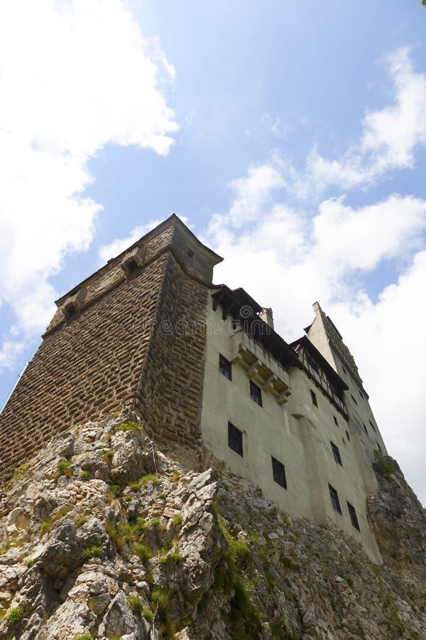 Château légendaire, résidence de Dracula en Transylvanie, Roumanie image libre de droits
