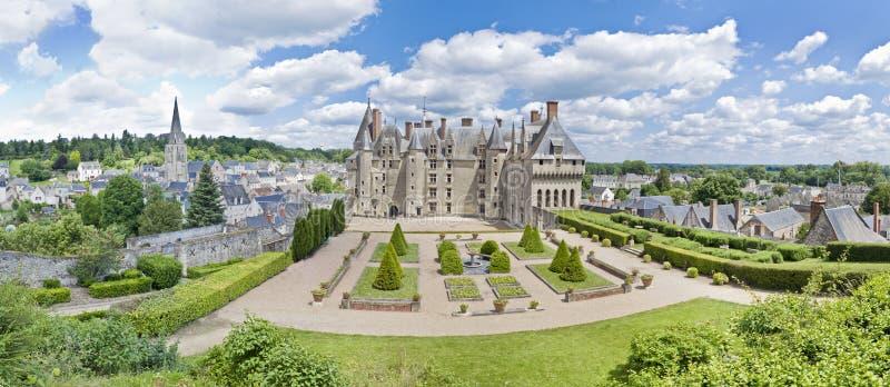 Château Langeais photo libre de droits