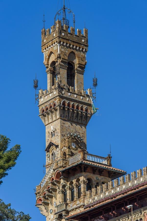 Château le Mackenzie à Gênes photos libres de droits