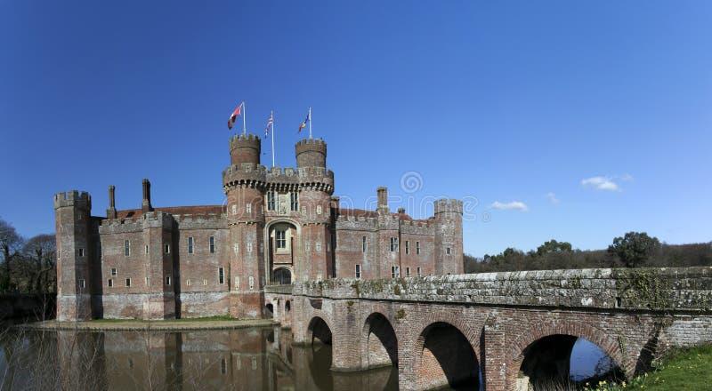 Château le Sussex est Angleterre de Herstmonceux photos stock