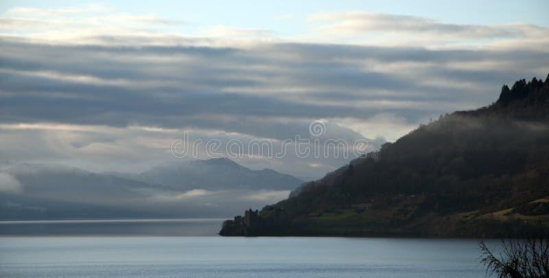 Château Loch Ness d'Urquhart image libre de droits