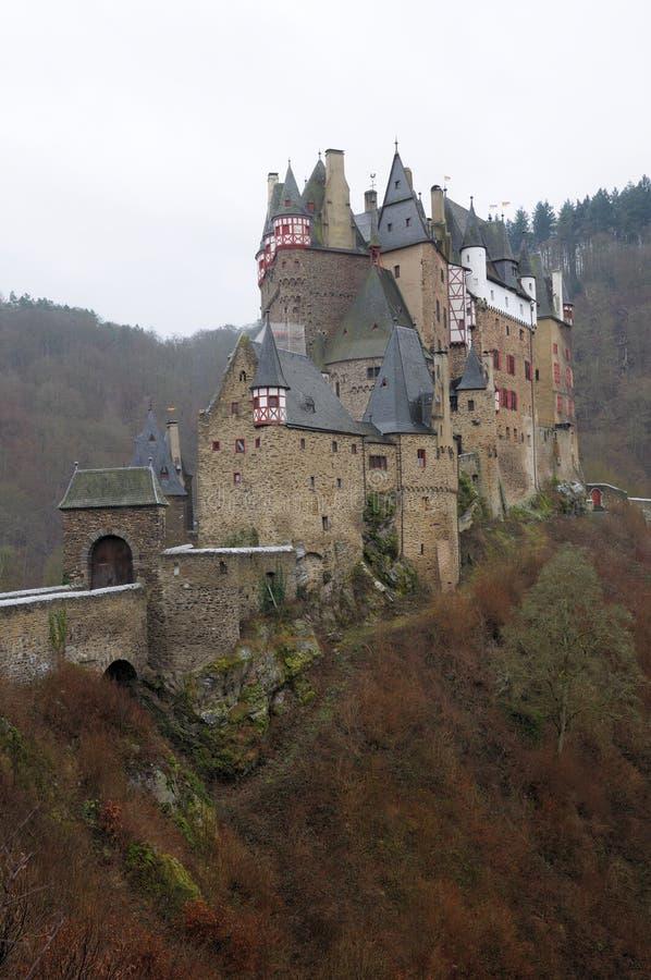 Château médiéval Eltz en Allemagne images stock