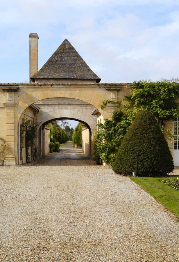 Château Magnol, Bordeaux, France photos libres de droits