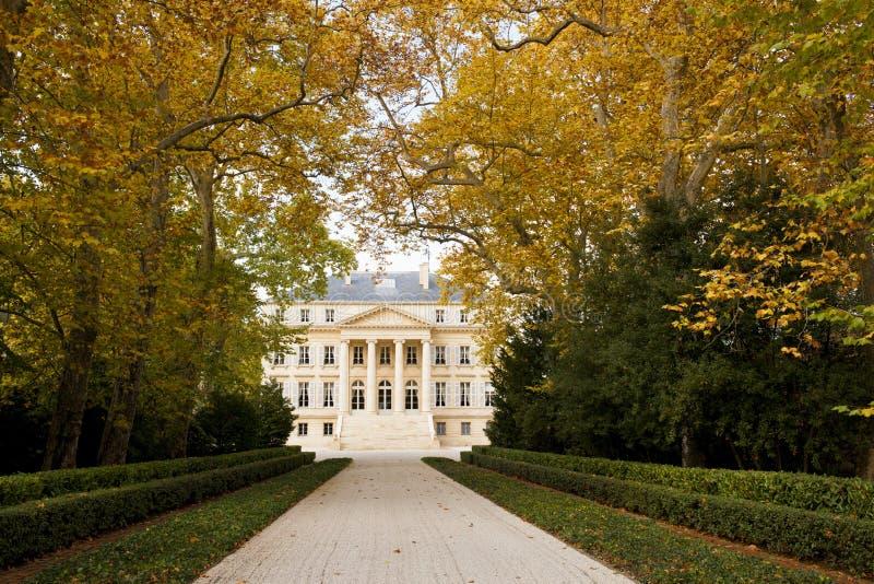 Château Margaux en Bordeaux, France photographie stock